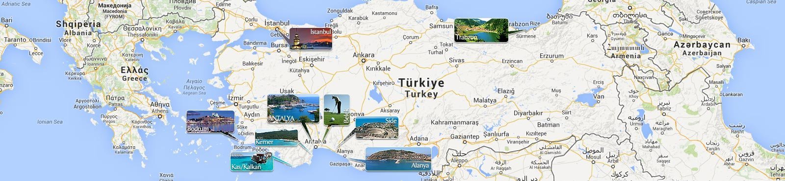Property Turkey Map
